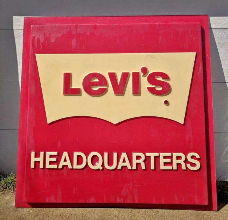 Vintage Levi sign