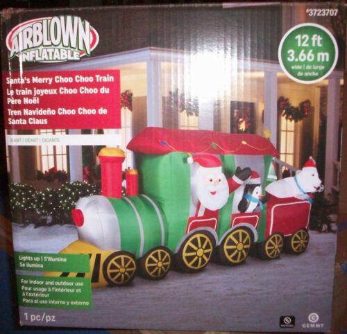 Gemmy 12 Ft. Airblown Christmas Inflatable Santa