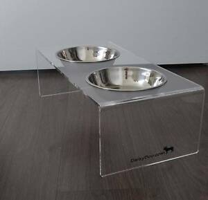 Raised Pet Feeder / Elevated Dog Bowls - Small Surry Hills Inner Sydney Preview