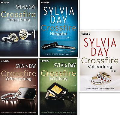 Sylvia Day, Crossfire, Versuchung, Offenbarung, Erfüllung, Hingabe, Vollendung