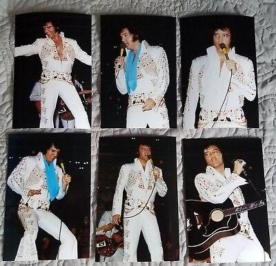 Elvis Presley: Photo Set of 9-Thunderbird Jumpsuit, Atlanta 1973 & FREE CD! NEW! (Elvis Presley Jumpsuits)