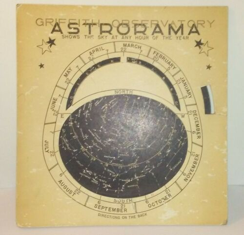 Astrorama Star Chart / Griffith Observatory / 1950
