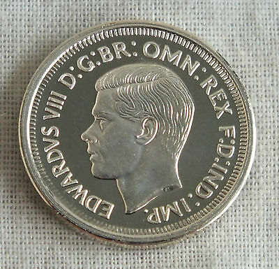 EDWARD VIII AUSTRALIA 1937 PATTERN SIXPENCE SILVER PROOF