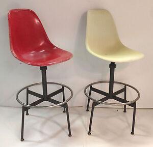Herman Miller Eames Drafting Height Swivel Chair Base Very RARE Original EBay