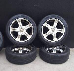 SECONDHAND 17 INCH WHEELS AND TYRES TO SUIT FORD FALCON, Preston Darebin Area Preview