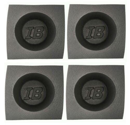 "6"" Foam  Speaker Baffles Universal for 6.5"" Car Audio 4"" Deep IBBAF60 2 Pair"