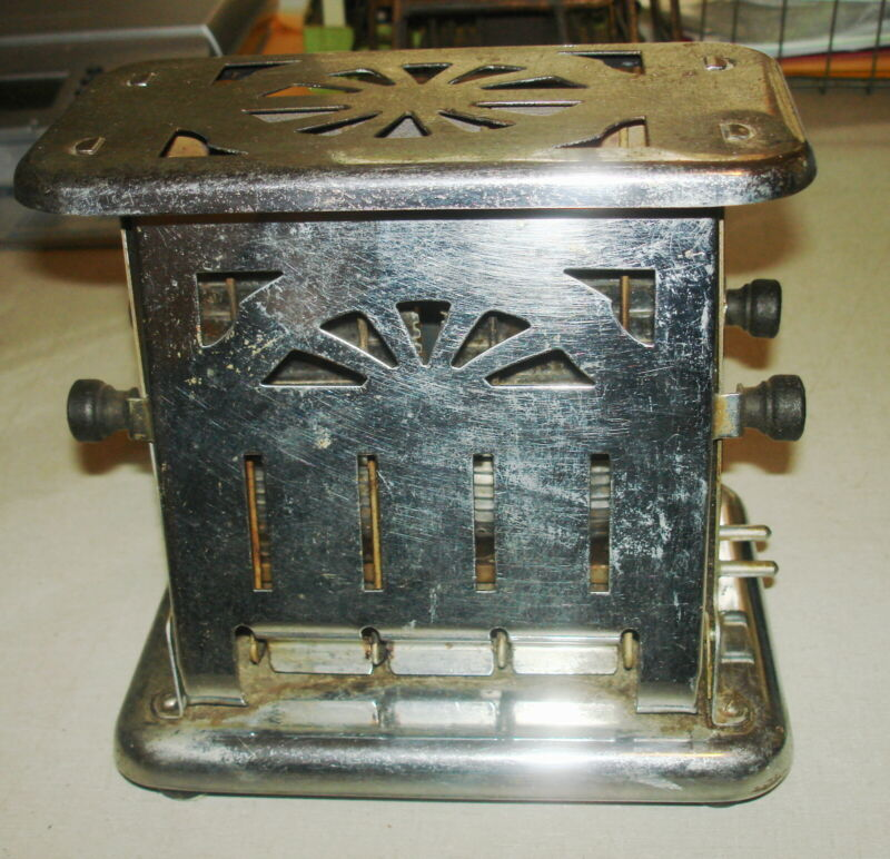 Vintage ELECTRIC TOASTER - UNIVERSAL E79312  Landers Frary Clark New Britain CT