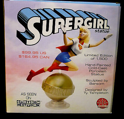 DC Comics Supergirl Daily Planet Superman Animation Statue  2007 New VF](Anime Super Girl)