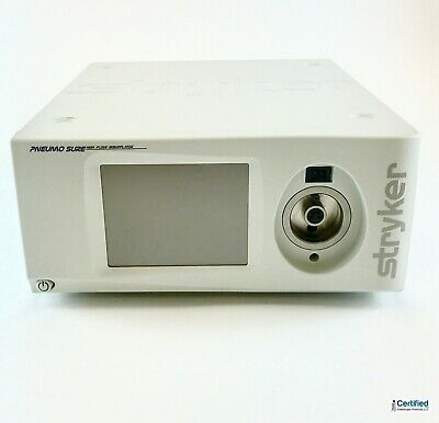 Stryker Pneumosure 45 Liter High Flow Insufflator With Yoke Hose 620-040-600