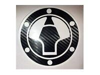 Carbon Fiber Triple Clamp Decal 2008-2012 Kawasaki Ninja 250R ZX250-3M Vinyl
