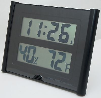 NEW Atomic Time ET-31U Wall Clock Weather Station Digital