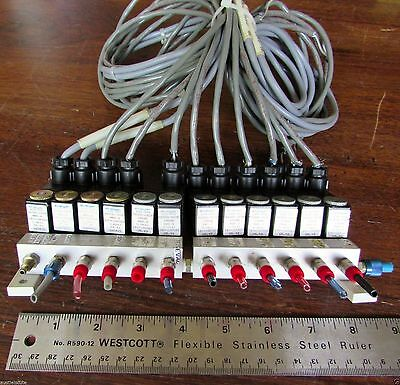 Lot 12 Staiger 635-082 Pneumatic Solenoid Valves 24v Germany Pa300-002p Festo