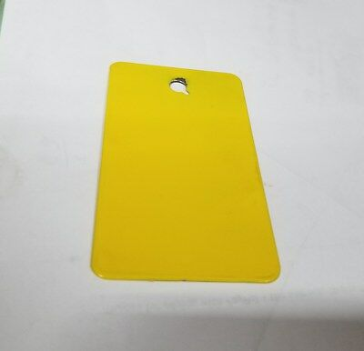 1 Lb New Wet Look Gloss Yellow Tgic Exterior Super Durable Powder Coat Paint