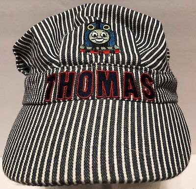 Thomas the Tank Engine Train Engineer Children's Kids Striped Conductor Cap Hat](Thomas The Train Engineer Hat)