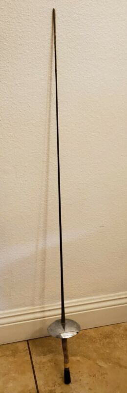 """Vintage Fencing Sword French Prieur 43"""" Iron Blade Made France Paris"""