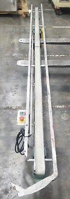 Smooth Flat Belt Conveyor 136 X 3 115v 3956sr
