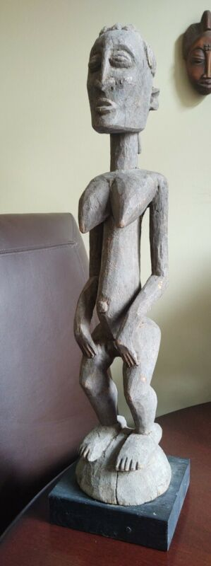 Hand Carved Igbo Tribe - Southeastern Nigeria African Fertility Tribal Sculpture
