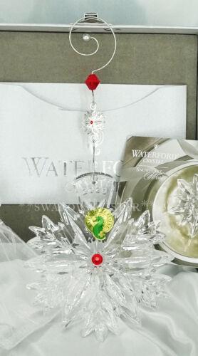 2020 *NIB* WATERFORD ANNUAL SNOWFLAKE WISHES LOVE PRESTIGE ORNAMENT 1055480