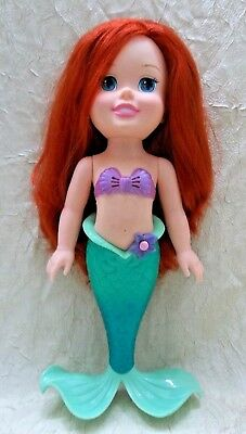 "Tollytots DISNEY Princess Ariel The Little Mermaid Singing Talking  14"" Doll"