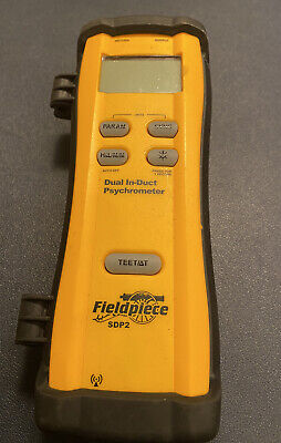 Fieldpiece Dual In Duct Psychrometer Sdp2 Hvac Tool Meter Only Free Shipping