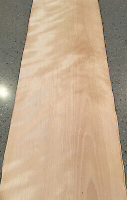 White Birch Wood Veneer 4 Sheets 31 X 11 9 Sq Ft