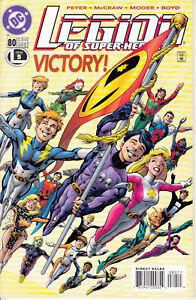 DC Legion of Super-Heroes, #80, 1996, Tom Peyer, Tom McCraw