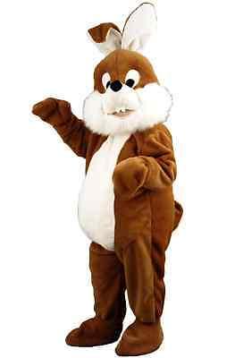 Hasenkostüm braun Osterhase Bunny Promotionqualität - Maskottchen Laufkostüm - Bunny Maskottchen Kostüm