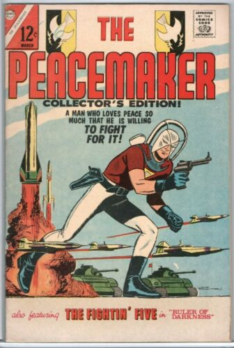 Peacemaker #1 (1967) Charlton Comics John Cena Suicide Squad