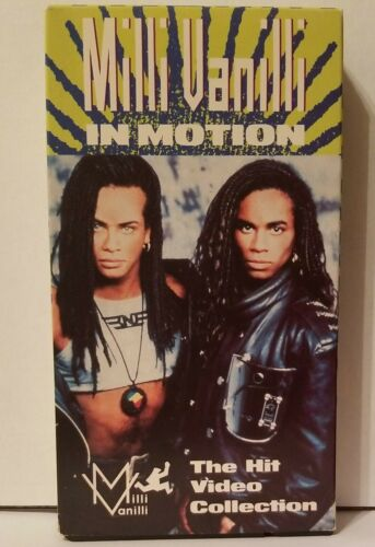 Milli Vanilli In Motion. The Hit Video Collection VHS, 1989 Girl You Know It s - $7.99