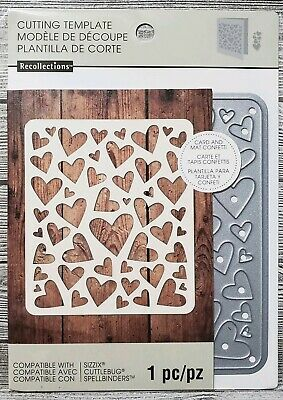 - Recollections Hearts Card and Mat Confetti Cutting Dies Template (1 Die)
