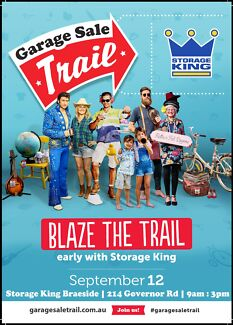 Storage King Auction Wars / Huge Garage Sales / new and used good Braeside Kingston Area Preview