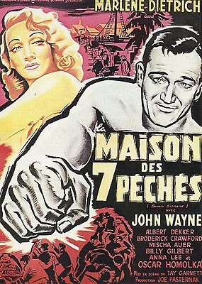 CARTE POSTALE / POSTCARD / CINEMA / MAISON DES 7 PECHES
