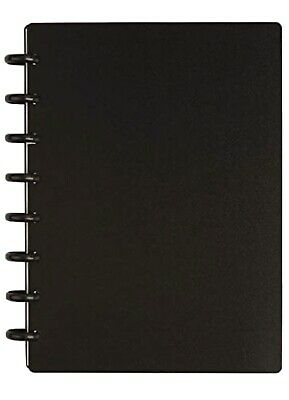 Tul Custom Note-taking System Discbound Notebook Junior Size 60 Sheets- Black