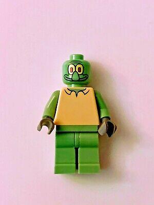 Lego bob003 SpongeBob Squidward Minifigure from set 3827 minifig