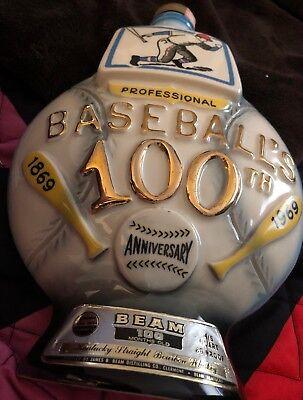 Baseball-regal (1969 Jim Beam Decanter
