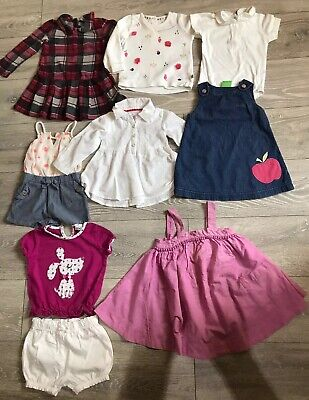 Baby Girls Clothes Bundle Age 9-12 Months.