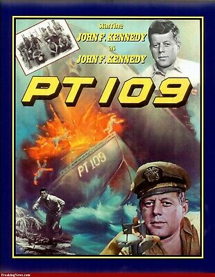 PT 109 1963 DVD - JOHN F KENNEDY - WAR FILM - BEST QUALITY