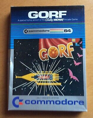 Gorf Commodore 64 A Special Home Version 1983