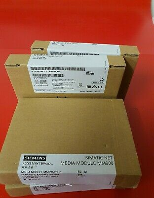 Siemens MM900 6GK5 992-2GA00-8AA0 6GK5992-2GA00-8AA0 MEDIA MODULE ETHERNET