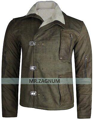Wolfenstein The New Order Game William B.J Blazkowicz Leather Jacket - All Sizes