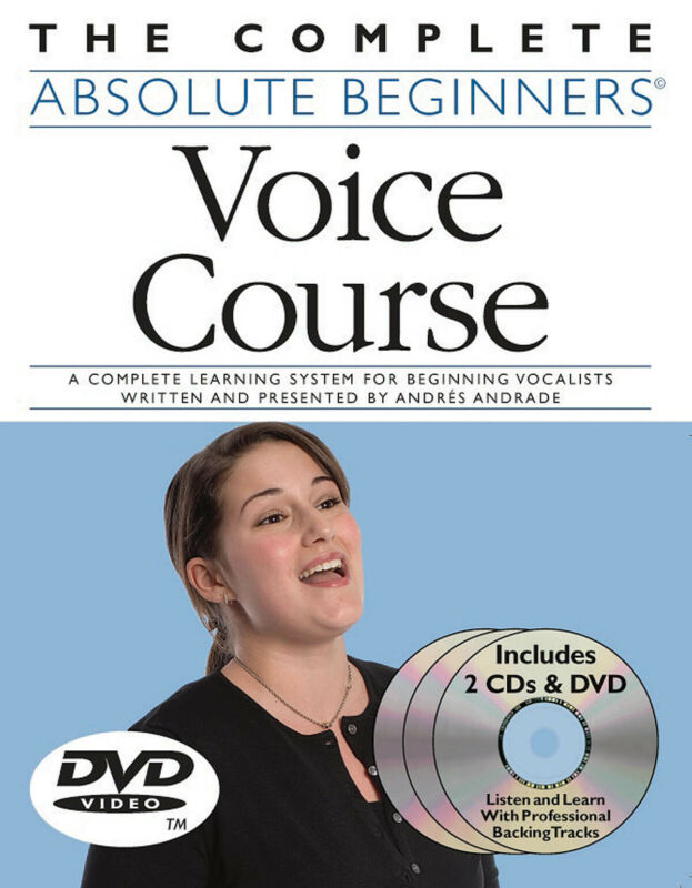 Complete Absolute Beginner Voice Course Singing Video Lessons Book 2 CD DVD