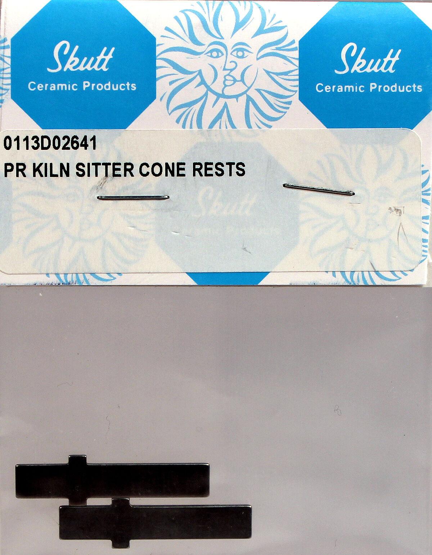 Skutt Kiln KM2 Kiln Sitter Cone Support Replacement Bars, 2 pcs Ceramics & Pottery
