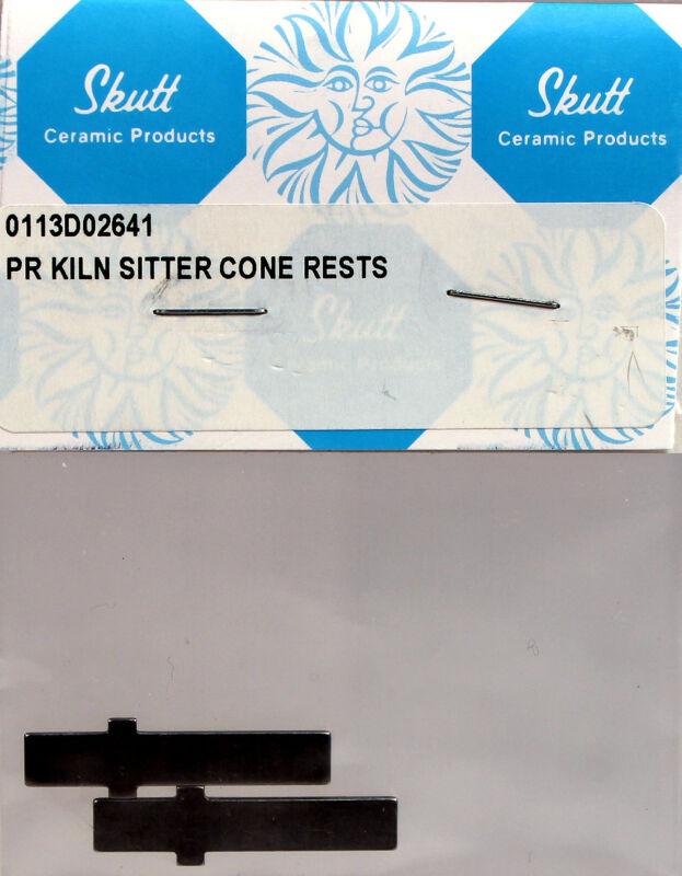 Skutt Kiln KM2 Kiln Sitter Cone Support Replacement Bars, 2 pcs