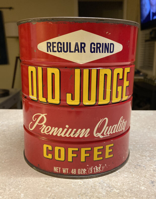 Old Judge Coffe Can 3 Lbs