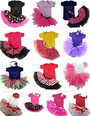 BABY GIRL NEON TUTU SKIRT 80S FANCY DRESS PARTY SPARKLE COSTUME TODDLER KID SET ](Toddler 80s Costume)