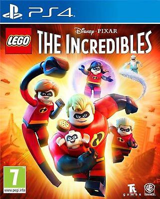 Lego The Incredibles PS4 Inc Mini Figurine