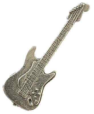 Música Guitarra Eléctrica Hecho a Mano Peltre Pin de Solapa Con /...