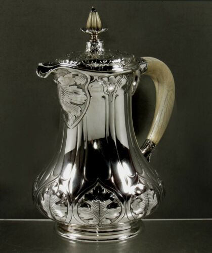 Gorham Sterling Coffee Pot          ATHENIC - Hand Wrought
