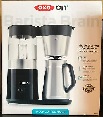 OXO ON Barista Brain 9-Cup Electric Coffee Maker NEW
