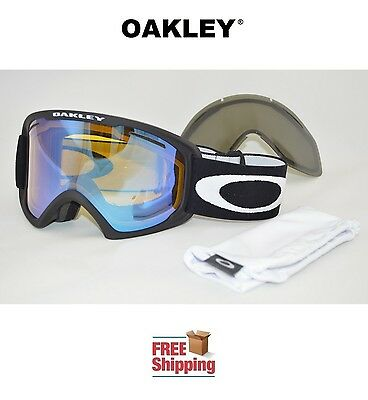 OAKLEY® GOGGLES O2™ XL 02 SNOW BOARD SKI MATTE BLACK W/ HI YELLOW + BONUS LENS